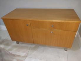 Solid Oak Sideboard Unit