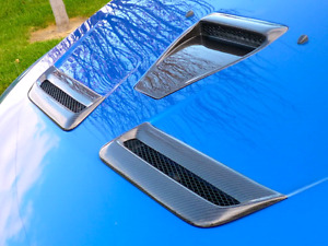 Mitsubishi Evolution/Ralliart hood trims