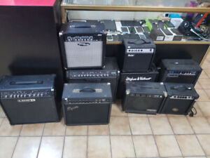 HUGE SALE ON AMPS !! 20% off all AMPS!!