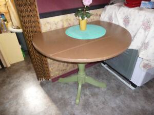 small wooden drop leaf table  50.00