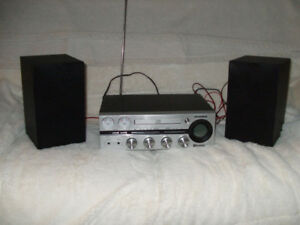 mini-stereo with big sound