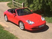 Porsche 911 996 Carrera 4 Tiptronic 3.6 Auto 1 owner Full History 2002