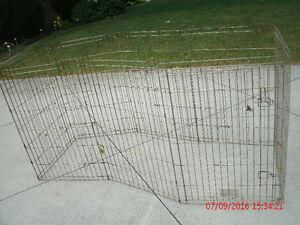 dog cage -- metal -- no tray