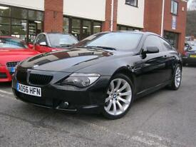 2006 56-Reg BMW 630i Sport Auto,GREAT COND,SAT NAV,LEATHER,XENONS,LOOK!!!