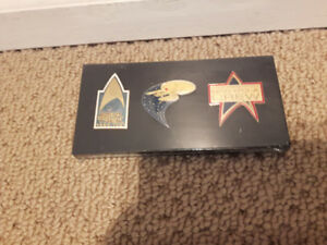 3 in 1 Startrek Pin (Brand new never open)