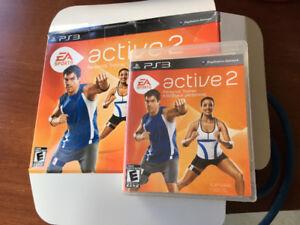 PS3 active 2 jeu de mise en forme