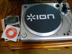 ION  RECORD PLAYER AND CONVERTER