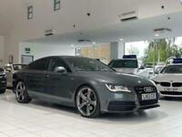 2013 Audi A7 3.0 TFSI V6 Black Edition Sportback S Tronic quattro 5dr Hatchback