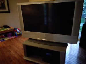 Free 55 inch Sony TV with stand