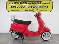 2012 Piaggio Vespa LX125, Red, White wall tyres, Low mileage, MOT, Warranty