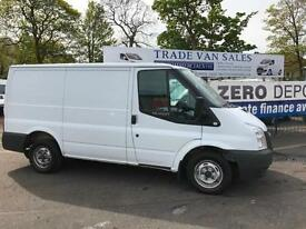 Ford Transit 2.2 Tdci low roof short wheel base 100ps white 2 owners clean van