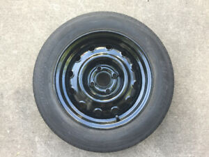 "One 14"" All Season Tire and Rim For Sale"