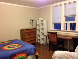 furnished room available now , month to month