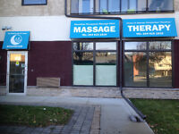 Massage therapy - 250 Marion Street / 204-615-1819.