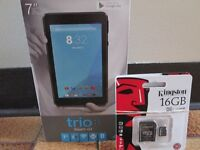 ANDROID TABLETS 7 INCH SCREEN SIZE EXCELLENT VALUE BRAND NEW