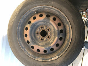 15 inch 5 bolt steel rims (185/65/15 mounted)
