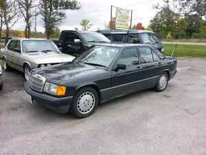 1989 Mercedes 190e 2.6 Mint - collectors condition