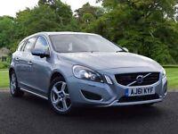 Volvo V60 2.0 D3 SE Lux 5dr (start/stop) (silver) 2012