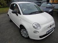 2012 Fiat 500 1.2 POP - White - Platinum warranty!