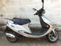 2001 51 KYMCO ZX 50 PART EX BARGAIN SPARES OR REPAIR / SALVAGE / PROJECT