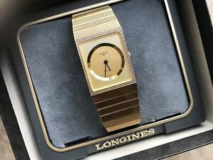 MINT CONDITION ALL ORIGINAL SWISS LONGINES MEN'S WATCH