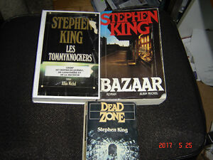 lot livres de stephen king
