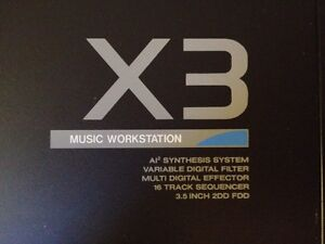 KORG X3 Music Workstation (rare)