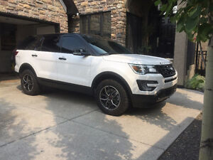 2017 Ford Explorer Sport Blacktop 2 Inch Lift