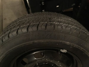 Steel rim with brand new tire 195 65/R15