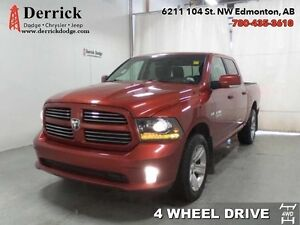 2013 Ram 1500   C/C 4X4 Sport Nav Capable Bluetooth $207.83 B/W