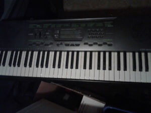 Casio keyboard only played twice