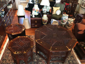 Oriental & Middle-East Decor - Lamps, Garden Stools & Tables