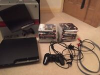 PS3 - 250gb Good as new with original box and cables - OTO