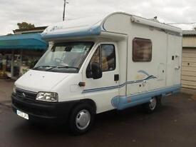 2003 Ace Novella Capri 2 berth Motorhome 2.0l Diesel ***( new in awaiting prep )