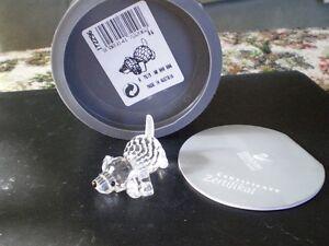 "Swarovski Crystal Figurine - "" Beagle Playing """