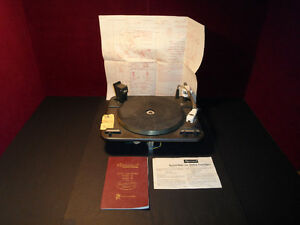 Vintage Garrard Laboratory Series auto turntable Type A Mark 2