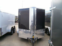 14 F BLACK  ROYAL CARGO TRAILER FOR SALE GREAT CONDITION