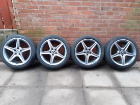 Genuine mercedes class w205 AMG alloy wheels