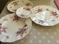 Royal Crown Derby Posies Plates