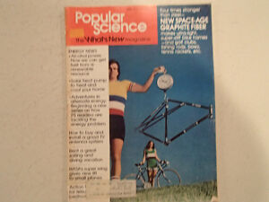 Vintage Popular Science Magazine April 1975 GC