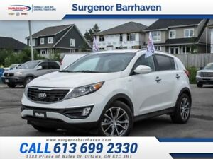 2014 Kia Sportage SX  - Low Mileage - All Wheel Drive - $153 B/W