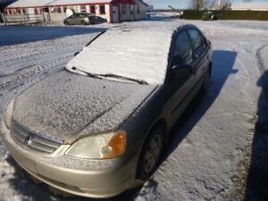 Honda Civic 2002 automatique
