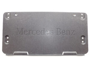 Mercedes ML350 GL350 2012-2016 License Plate Bracket 0008101711