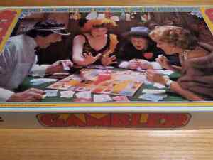 Gambler 1975 Parker Brothers Game