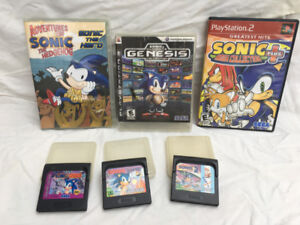 Collectables Sonic Video Games