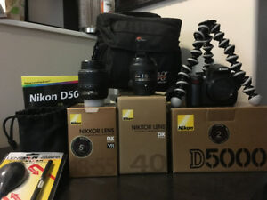 Nikon D5000 with f/2.8G lens and more!