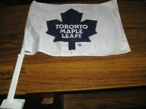 TORONTO MAPLE LEAFS CAR FLAG - NEW