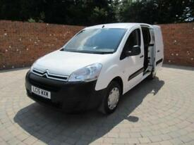 CITROEN BERLINGO 625 ENTERPRISE L1 H1 SWB AIR CON BLUETOOTH 3 SEATS