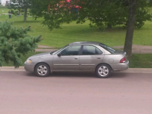 2003 Nissan Sentra- for parts or repair 300 OBO