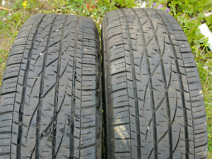 2 tires 235 70 17 firestone destination